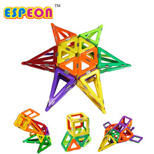 Espeon Kids Toys 12Pcs Enlighten Bricks Educational Magnetic Designer Toy 3D DIY Model Building Blocks Toys For Children