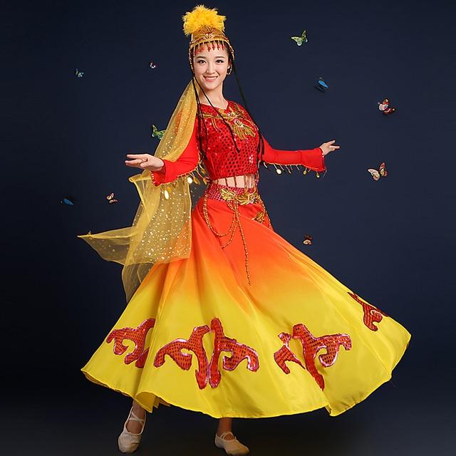 20c97d7fa new Xinjiang Uighur Ethnic Dance solo stage performance minority ...