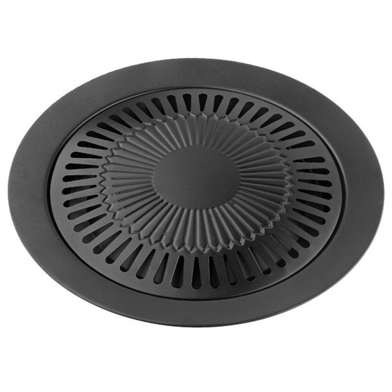 E-SHOW Smokeless Indoor BBQ Barbecue Tools barbecue grill gas Household non-stick iron Gas Stove plate high quality 1