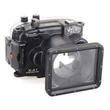 Meikon 40m/130ft Underwater Diving Camera Housing for Fujifilm X-A1 (16-50mm )