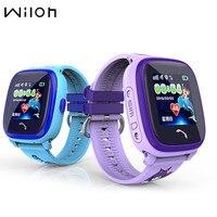 1PCS Waterproof GPS Tracker Watch For Kids Swim Touch Screen SOS Emergency Call Location Smart Watch