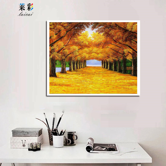 No Framed]40x50cm Modern Landscape Canvas Printing Painting Wall Art ...