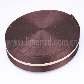 """black 1.5"""" twill cotton tape webbing for bags strap in stock"""