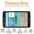 Premium Tempered Glass Screen Protector Guard Film For LG GPAD F 8.0 V495 V496 8 inch tablet 9H 0.3mm 2.5D Hardness Screen Cover