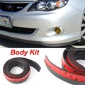 Para Subaru Legacy/Liberty/B4/Car Bumper Lip/falda Alerón/Deflector de Parachoques Tira De Goma/Lateral del Chasis protección