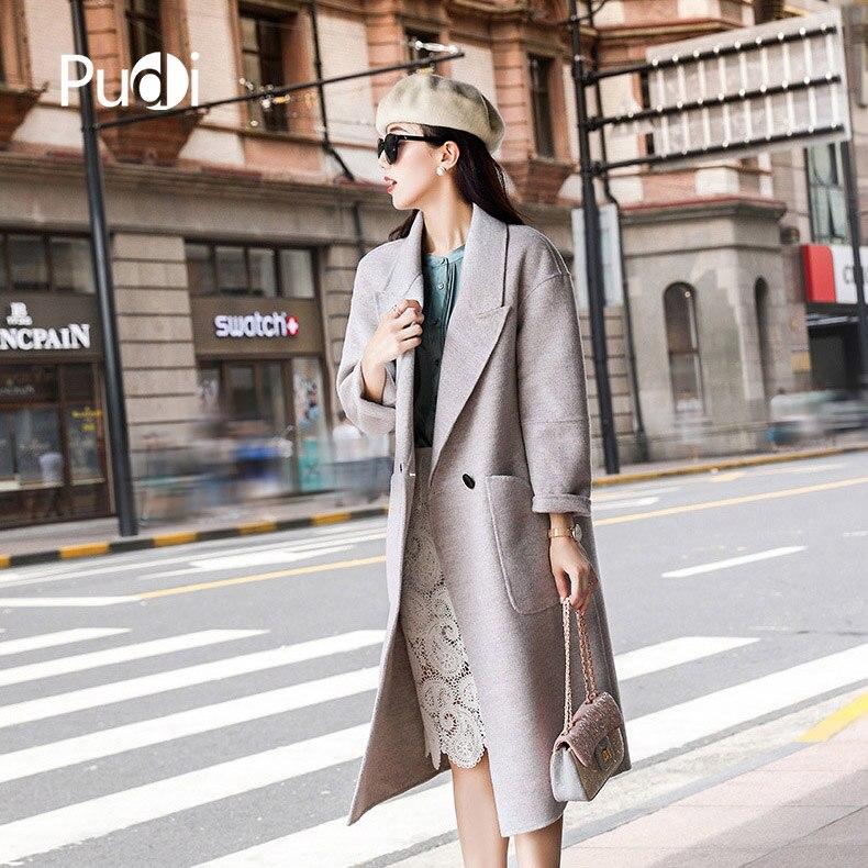 Nouvelle Femmes Poche Veste Manteau Style Solide Dame Laine Mode Automne Loisirs Pudi Hiver Long Ro18040 2018 Avec fwzqxPEX