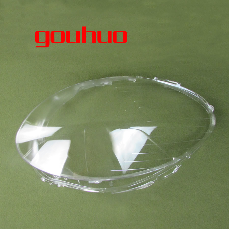 for 06 08 Mercedes Benz R class W251 R350 R500 headlamp lamp cover lens glass lamp cover headlight transparent lampshade 1PCS-in Shell from Automobiles & Motorcycles