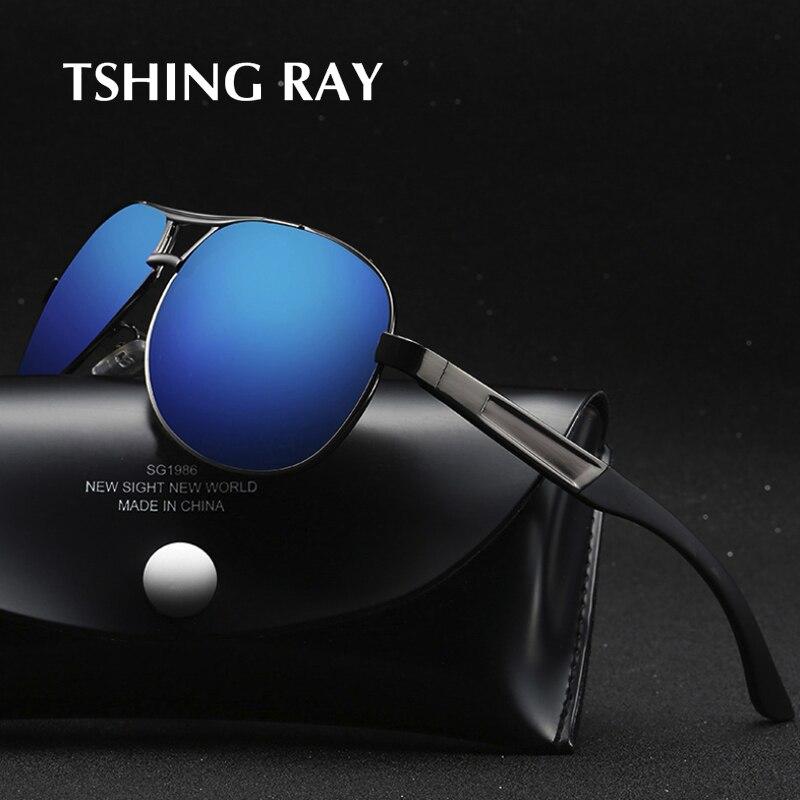 2019 Mode Tshing Ray Mode Männer Polarisierte Pilot Sonnenbrille Männer Vintage Marke Designer Polaroid Luftfahrt Fahren Sonnenbrille Für Männliche Geeignet FüR MäNner Und Frauen Aller Altersgruppen In Allen Jahreszeiten
