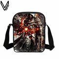 2017 Hot Assassin's Creed series 3D printing student neutral fashion leisure Xiegua bags, gift Crossbody Bag good young children