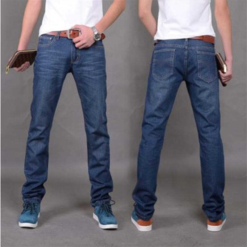 New Arrival Brand Jeans For Men Cheap Jeans Regular Fit Denim Jeans Pants Classic Blue Color Size 28 To 38 Fashion Design all seasons famous brand jeans men straight denim classic blue jeans pants regular fit high quality plus size 28 to 40 sulee