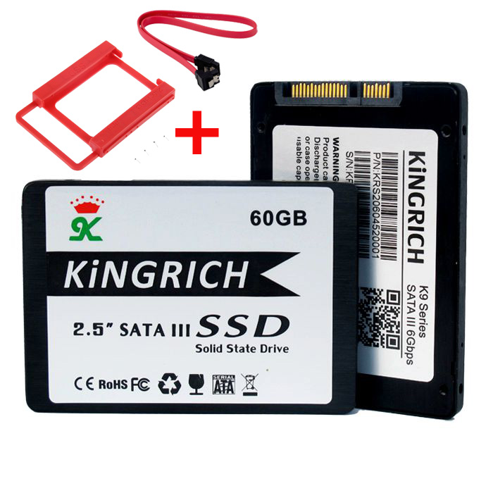 Best price kingrich solid state drive 64gb ssd 2 5 39 39 sata3 for Domon sata 3 64gb