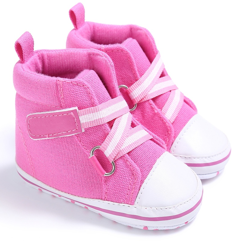 4 Colors Spring/Autumn Baby Canvas Boots Shoes Buckle Strap Baby Schuhe First Walkers Children's Sneakers 2017 New Arrivals