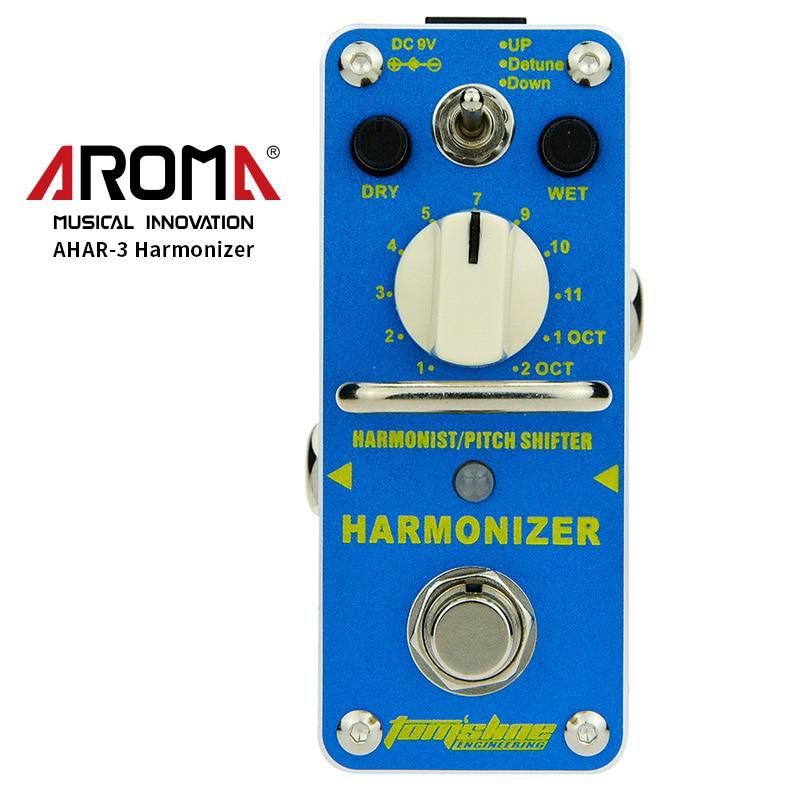 AROMA AHAR-3 Harmonizer Guitar Pedal Harmonist/Pitch Shifter Guitar Effect Pedal Mini Single Effect Guitar Parts & Accessories