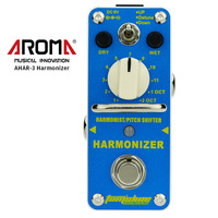 AROMA AHAR 3 Harmonizer Guitar Pedal Harmonist/Pitch Shifter Guitar Effect Pedal Mini Single Effect Guitar Parts & Accessories