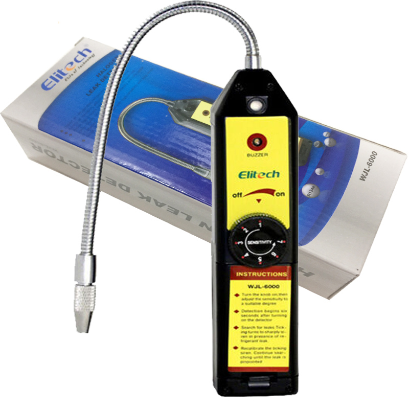 WJL-6000 air conditioning Halogen Leak Detector High Sensitivity electronic halogen leak detector refrigerant detection gas leak