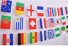 100-200 pcs Countries String Flag 25M International World Banner Bunting bar party decoration