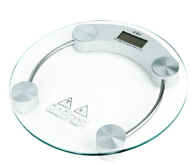 Electronic Health Scale Body Weight Max 150kg Mini Precise Weighing Bathroom Digital Balance