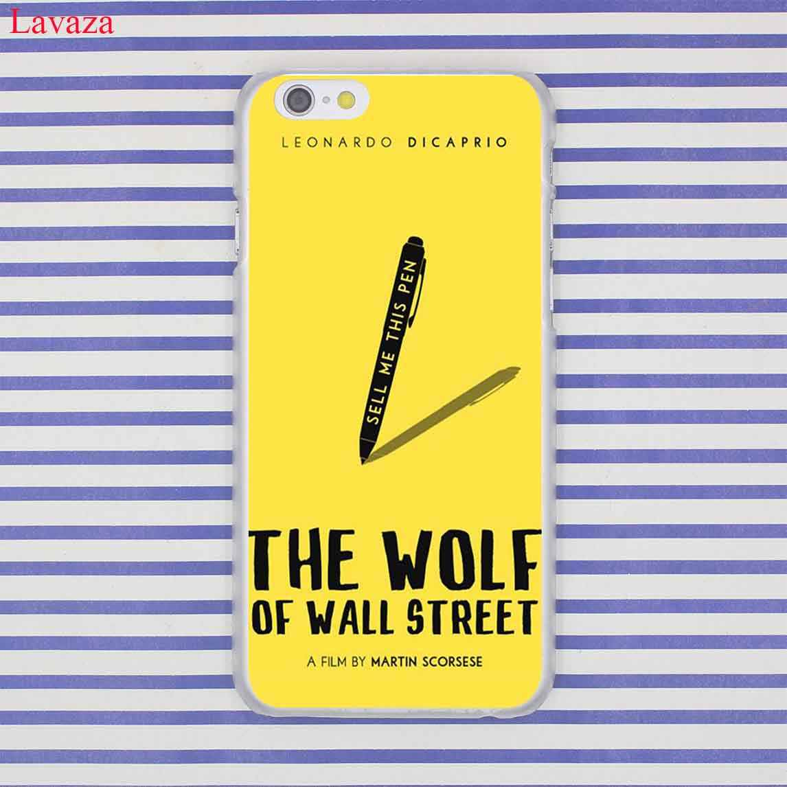 Lavaza The Wolf Of Wall Street Leonardo DiCaprio Cứng Ốp Lưng điện thoại Iphone XR XS X 11 Pro Max 10 7 8 6 6S 5 5S SE 4S 4