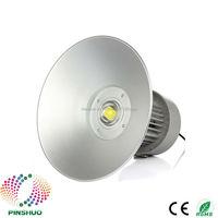 4PCS DC12V 24V Warranty 3 Years Brigdelux Chip 12V High Bay LED Light 50W Industrial Lamp E40