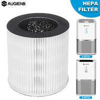 Remplacement du filtre HEPA AUGIENB pour purificateur d'air de bureau modèle A-DST01 et A-DST02 pour réduire les Allergies aux odeurs de moisissure