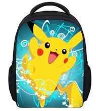 13 inch new design small cartoon Pokemon school backpacks,children mini kindergarten backpack for boys,trendy kids POKENMON bag