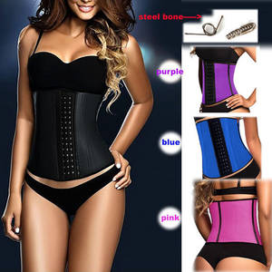 Corset Waist-Shaper Latex Faja Wholesale Women 10pcs