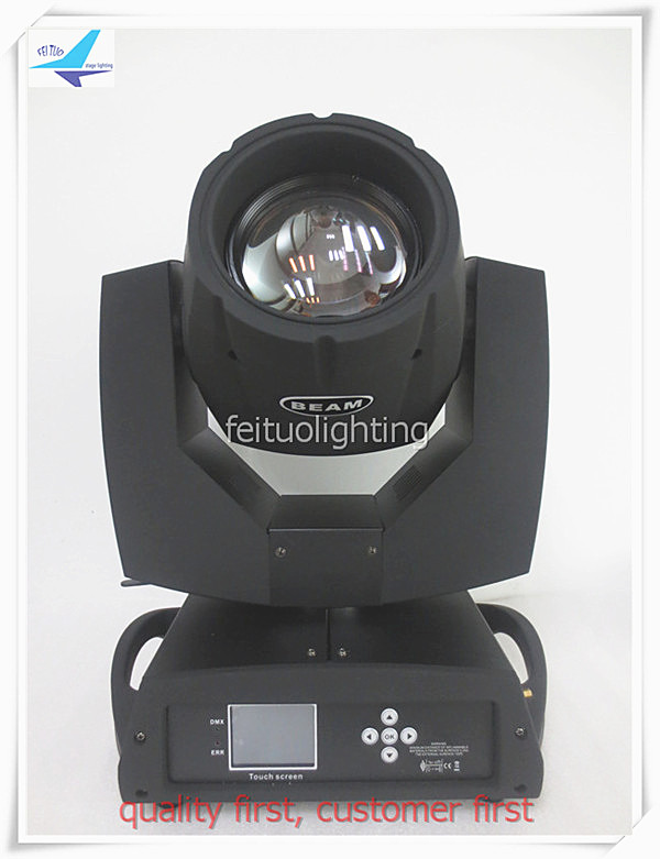 free shipping 2xlot Professional 230w Beam Lyre 7r Moving Head Light Stage 16 Prism Sharpy Clay Paky DJ Bar KTV Party Gobos Lamp