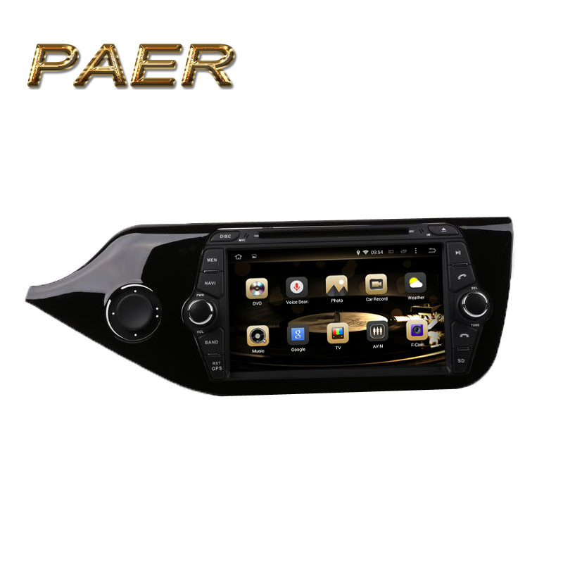1024 600 Quad Core Android 5 1 Fit Kia CEED 2012 2013 2014 2015 Car DVD