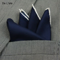 18 Colors High Quality Men's Classic Business Satin Fabric Handkerchief  Wedding Pocket Square Pure Silk Suit Decoration