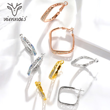 Viennois Rose Gold Color Hoop Earrings for Women Trendy. US  14.99   Pair Free  Shipping 3a9bedccfb36