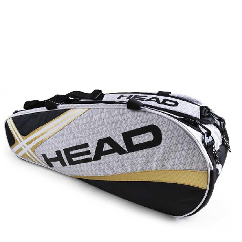 Головной Теннисный мешок сумка для теннисных ракеток Юнион Джек спортивная сумка емкость 3-6 теннисные ракетки сумка Мужская теннисный рюкзак