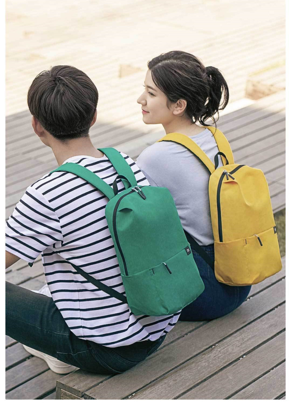 Original Xiaomi Mi Backpack 10L Bag Urban Leisure Sports Chest Pack Bags Men Women Small Size Shoulder Unisex Rucksack bolsa (2)