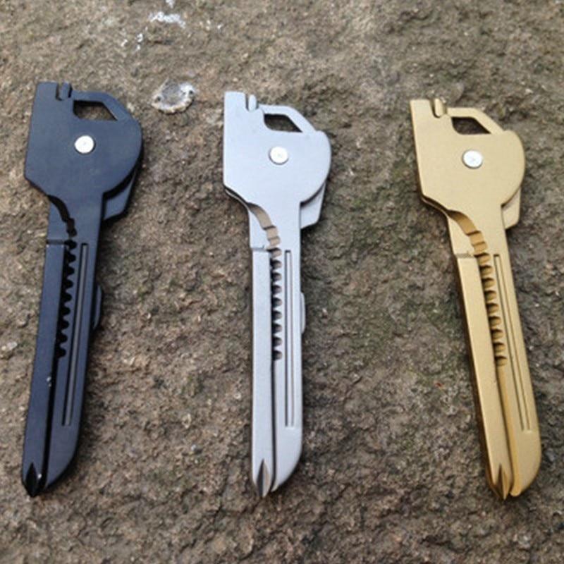 1PCS Outdoor Mini Multifunctional Knife Tool Folding Pocket Tools Multi Pocket Tool Hand Tools Keychain Pliers Knife