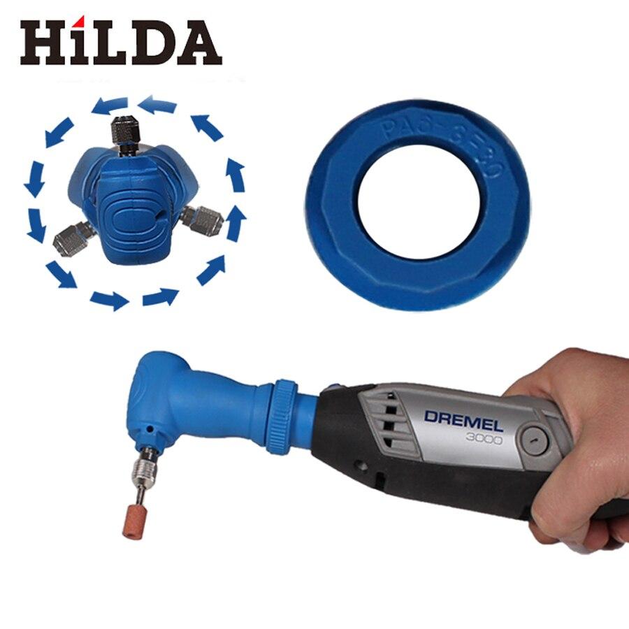 HILDA Dremel Rotary Strumenti Ad Angolo Retto Converter Per Dremel Utensili Abrasivi Accessori Dremel Per Hilda Dremel