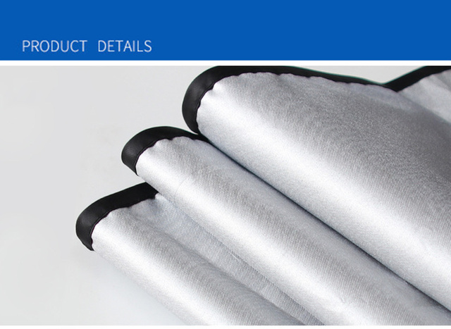 Single-Layer UV Solar Sun Protection Retractable Magnetic Car Curtains Side Visor Summer Sunshade Window Protector Baby 3