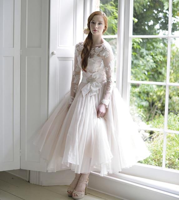 2016 A Line Style Princess Short Country Dress Wedding Elegant ...