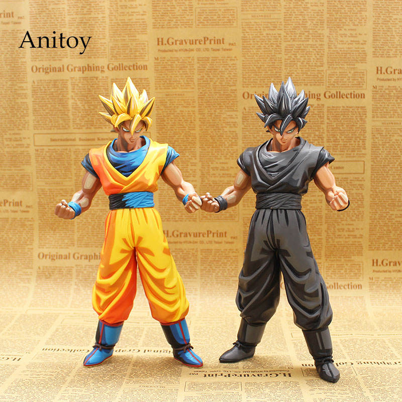 Dragon Ball Z Master Stars Piece MSP The Son Goku Manga Dimensions Chocoolate PVC Action Figure Collectible Toy 27cm KT3729 neca planet of the apes gorilla soldier pvc action figure collectible toy 8 20cm
