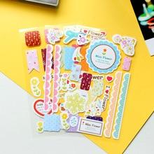 3 pcs/lot sweet lace paper stickers decoration decal sticker diy scrapbooking sealing sticker kawaii stationery