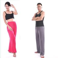 Free Shipping Male Yoga Pants Femal Leggings and Sports Gym Exercise Wushu Tai Chi XXL Pants White Blue Clothes