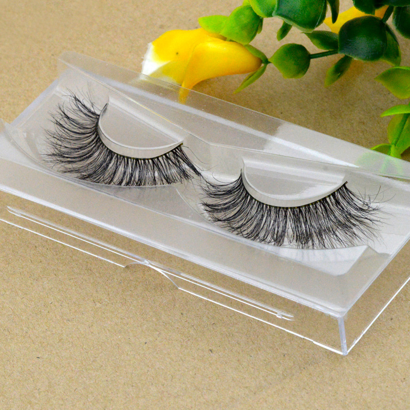 YOKPN Horse Hair False Eyelashes Natural Curl Messy False Eyelash Long Volume Lashes Multilayer Realistic Thick Fake Eye Lashes