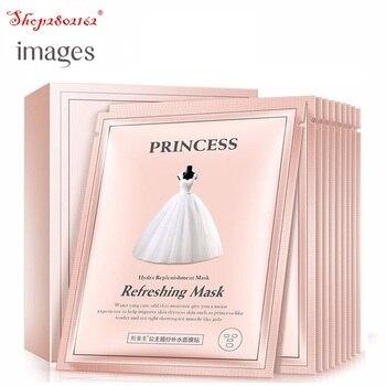 20box/200pcs Images Whitening Moisturizing Princess Wedding Dress Mask Anti-Aging Depth Replenishment Face Care 30g
