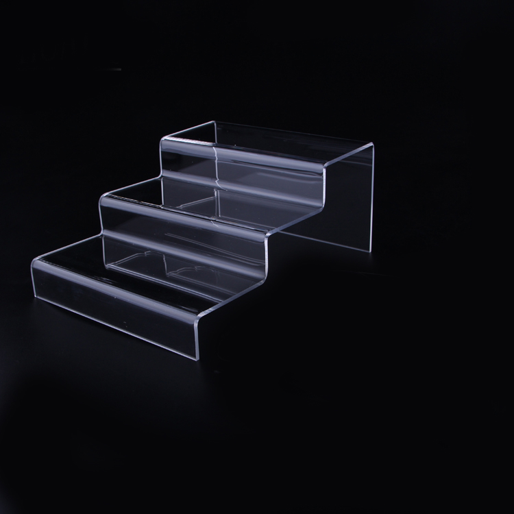 3 Tier Desktop Eyeglasses Showing Rack Acrylic Glasses Optical Display Steps Sunglasses Stand Storage Holder acrylic sunglass glass rack optical display frame glasses stand holder organizer clear