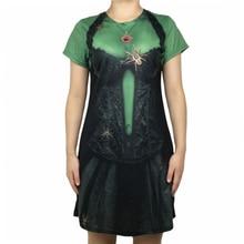 цена Halloween Party Gothic Witch Dress for Women Vintage Ladies Victorian Renaissance Black Goth Halloween Witch Costume Plus Size онлайн в 2017 году