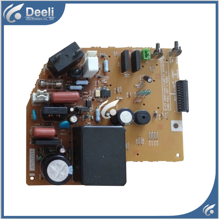 все цены на 95% new good working for air conditioning motherboard control board A742111 board sale онлайн