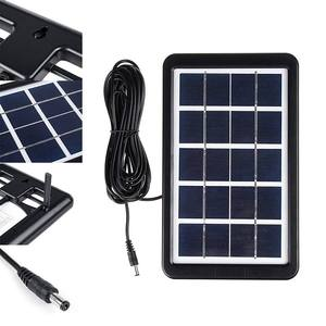 Image 5 - Solar Power Panel Generator Kit bluetooth Speaker USB Charger Home System + 2 LED Bulbs for Outdoor Lighting Smartphone charging