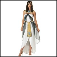 White Egyptian Princess Dress Halloween Cosplay Costume Party Adult Warrior Clothes Female Greek Goddess Fancy Cosplay
