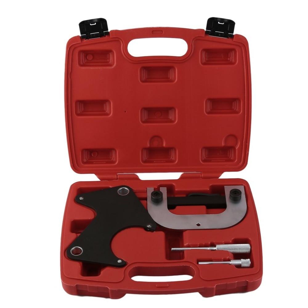 Einstell Werkzeug V-Polia Da correia do motor da Ferramenta De Bloqueio de Bloqueio Do Motor Tempo Alinhamento Sincronismo Kit Conjunto de Ferramentas Para Renault
