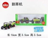 Gift 16cm 1:87 SIKU hay mower cropper car tractor engineering van plastic model collection game boy children toy