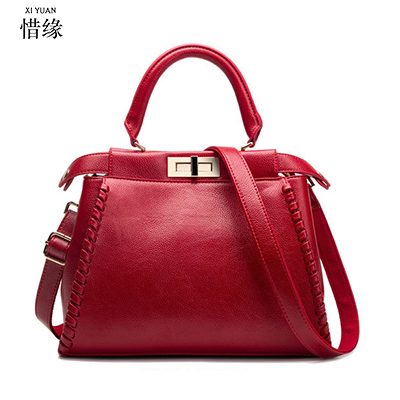 Xiyuan Brand Large Capacity Luxury Handbags Chinese Style Women Bags Designer Famous Lady Leather Tote Sac A Main In Shoulder From Luggage