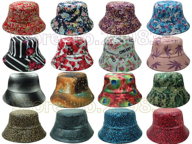 Wholesale Galaxy Bucket Hat Brand New Camo Cheap Floral Fishing Summer Mens  Womens Hats For Sale Hip Hop Caps Free Shipping 2749856aeab